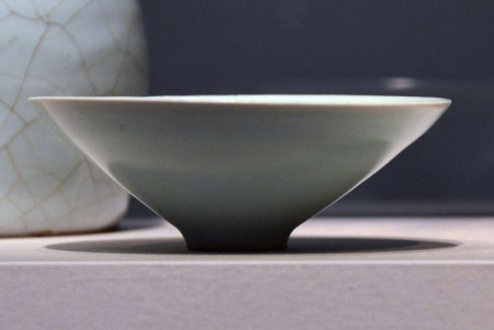 I though this celadon-glazed bowl was just perfect.
