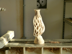 Fireform carving