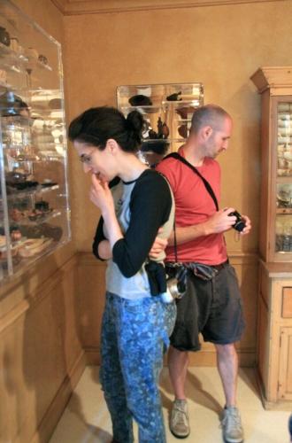Julia and Rex savor another room of treasures.