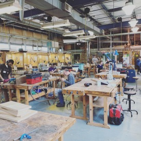 hello bucks county community college wood shop